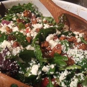 Spring Salad with Orange RosemaryVinaigrette